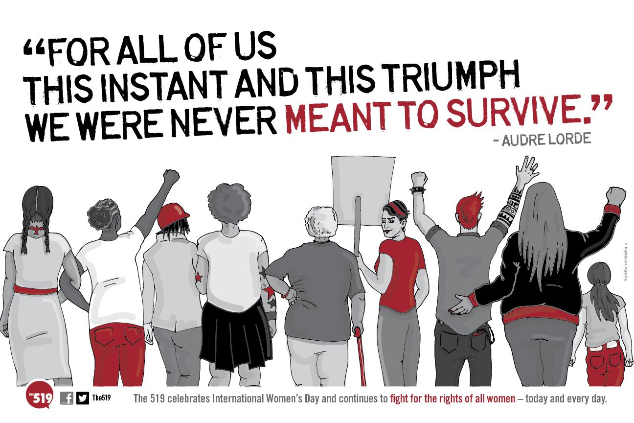 Light Up The Sky | International Women's Day Poster