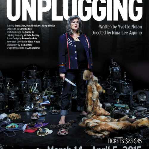 The Unplugging For Factory Theatre. Design by Light Up The Sky
