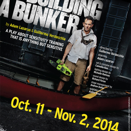 The Art of Building A Bunker poster designed by LUTS