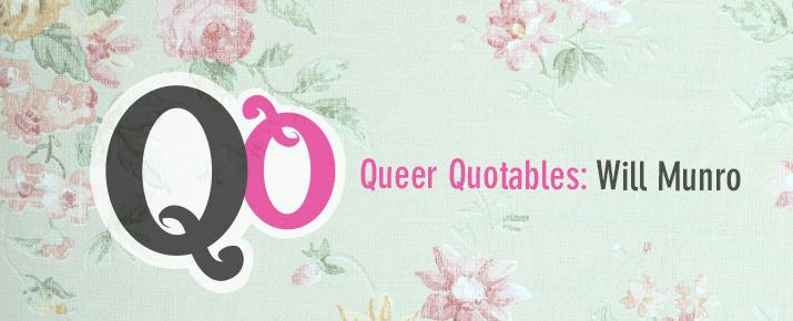 QQ Will Munro Blog Header