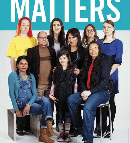 519 Trans Inclusion Matters poster designed by Light Up The Sky