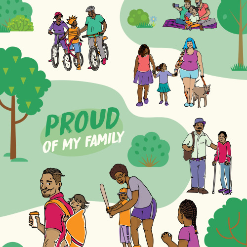 519 EarlyOn Family Proud Poster