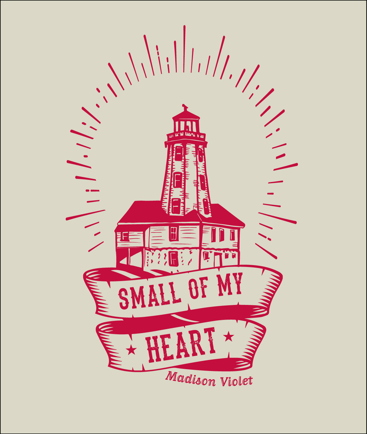 Madison Violet Kincardine Light House T shirt Design
